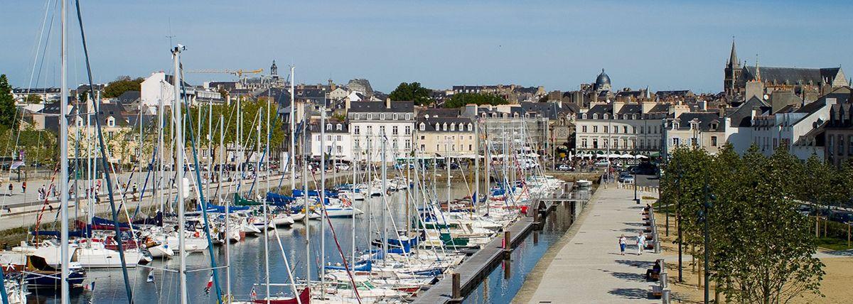 Le port de Vannes La Place
